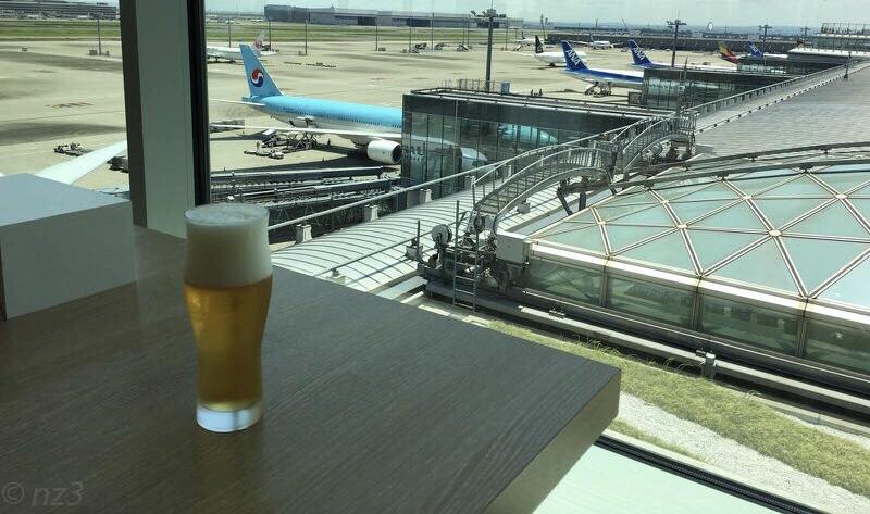 成田空港のキャセイパシフィック航空ラウンジ
